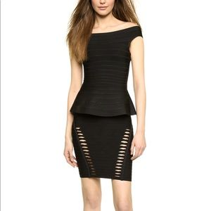 Herve Leger classic bandage style top